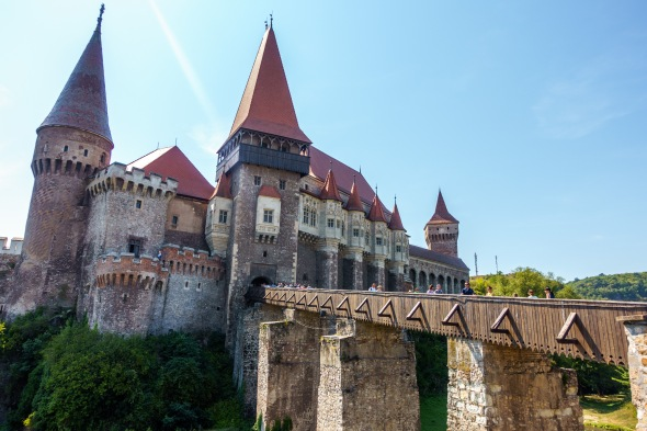 Corvinilor Castle, Romania